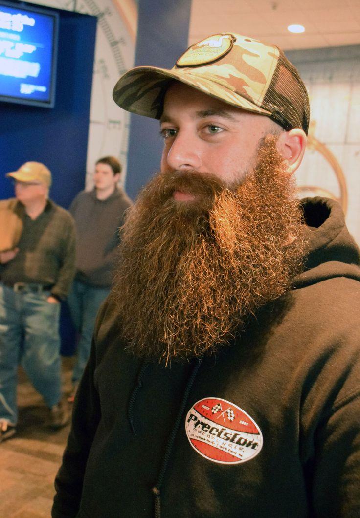 Chesapeake man wins Civil War-era beard contest