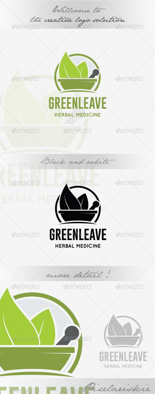 Herbal Medicine Logo - Nature Logo Templates