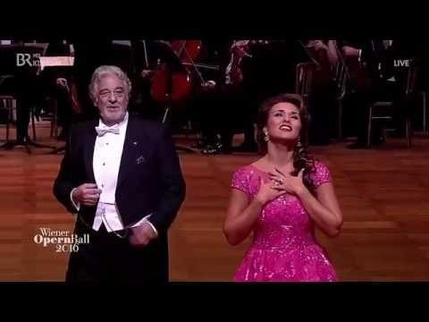 Plácido Domingo & Olga Peretyatko   Lippen schweigenFranz Lehár