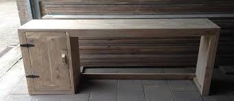Afbeeldingsresultaat voor bureau steigerhout