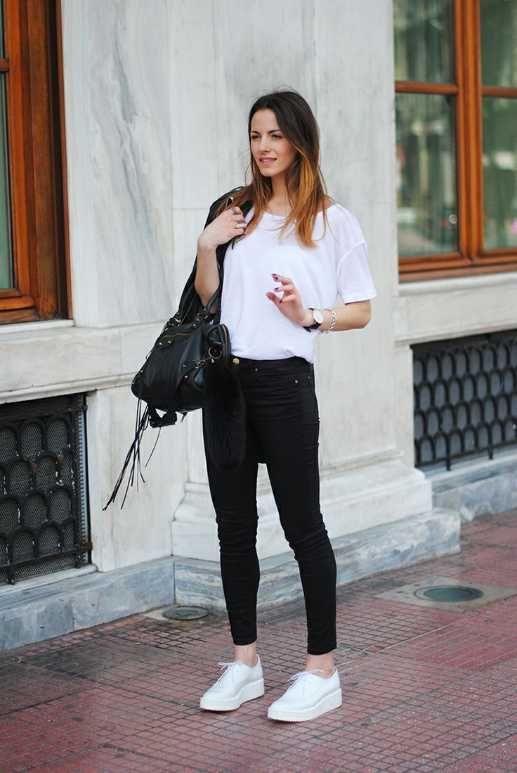 Good basics, starting with the sneakers.