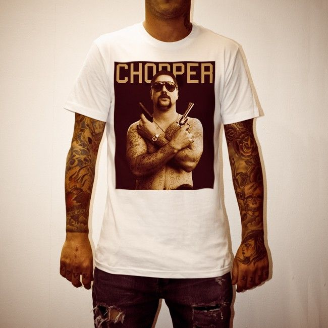 Buy Chopper White Tee Shirt online today at Uncle Reco's Online Store.