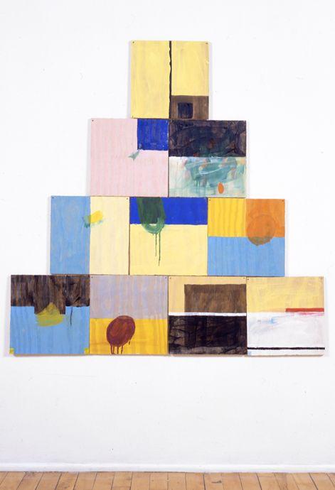 """antonioladrillo:  Richard Tuttle """"Ten, D"""", 2000"""