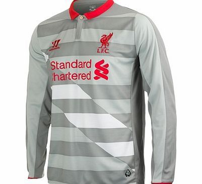 Warrior Liverpool Third Goalkeeper Shirt 2014/15 Long Liverpool Third Goalkeeper Shirt 2014/15 Long Sleeve Grey  Perfect your goalie skills in this long sleeved Liverpool Third Goalkeeper Shirt which is built with breathable War-Tech® fabric to keep you  http://www.comparestoreprices.co.uk/sportswear/warrior-liverpool-third-goalkeeper-shirt-2014-15-long.asp