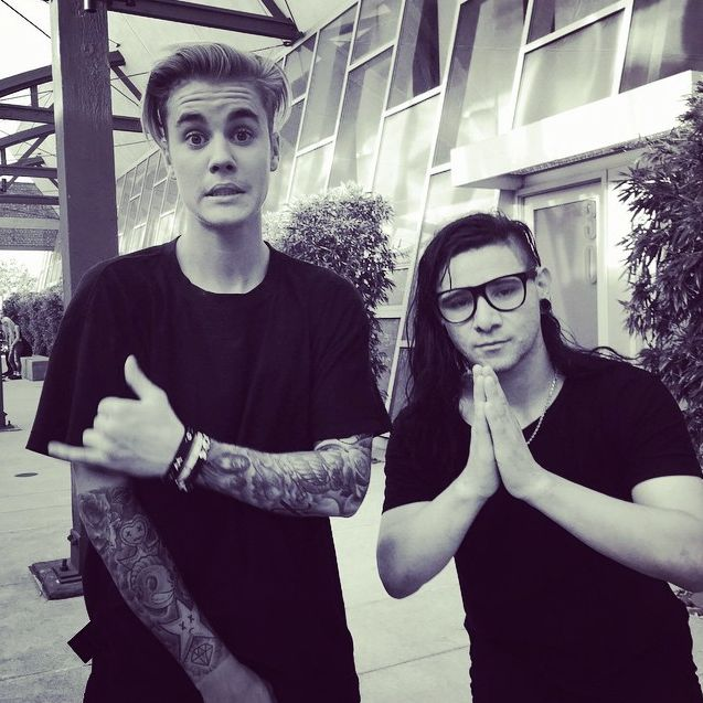Justin Bieber And Skrillex♥