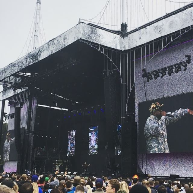 Such swag with @therealbigboi & @phantogram = #biggrams  #ardenerocks #outsidelands