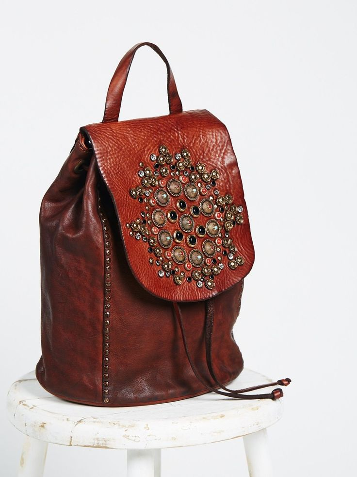 Sacra Studded Backpack