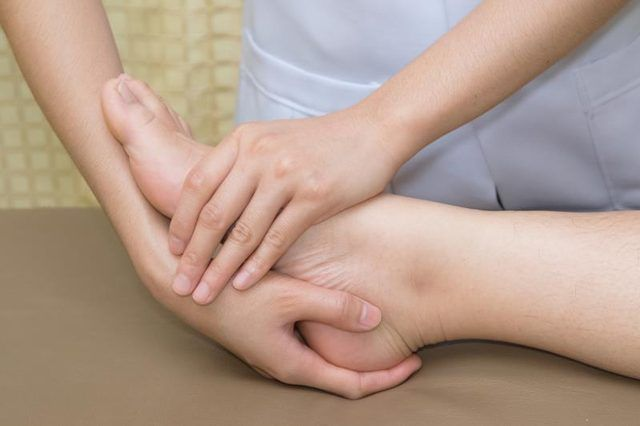 Physical Therapy Exercises for an Ankle Fracture Repaired With a Plate & Screws