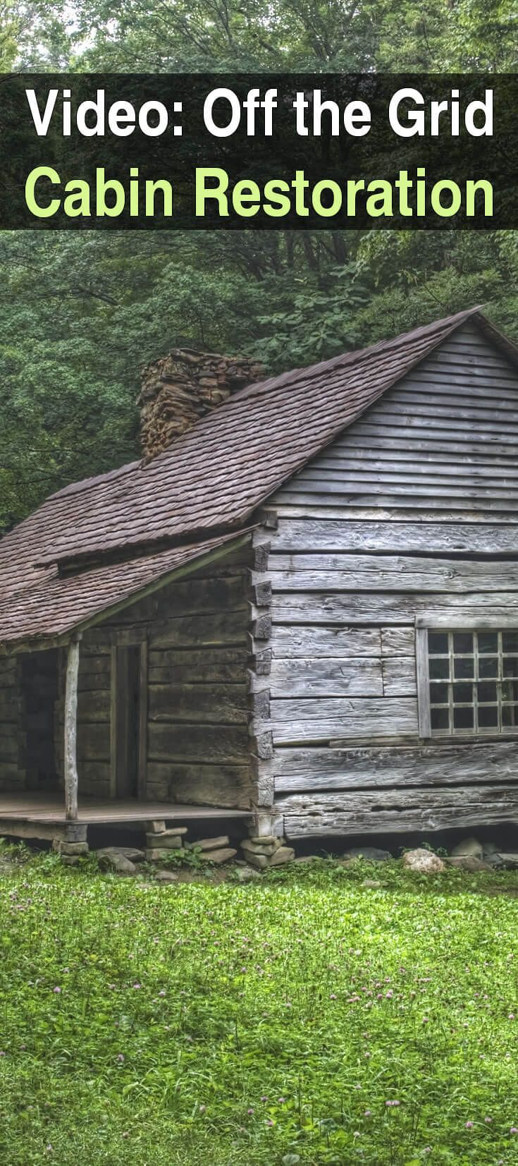 Whether you're looking for a homestead or a bug out location, this series will give you a great idea of the kind of work involved restoring an old cabin.