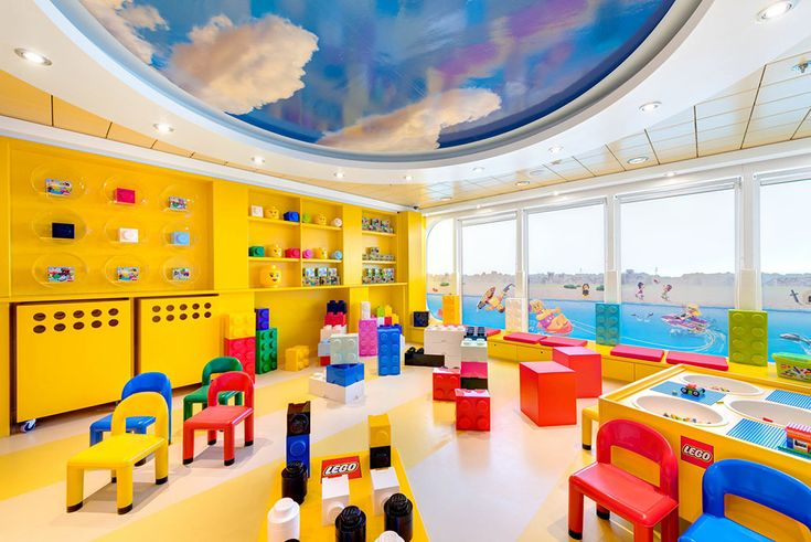 LEGO Play Area, MSC Sinfonia ~ MSC Cruises Relaunches Elongated and Updated MSC Sinfonia | Popular Cruising (Image Copyright © MSC Cruises)