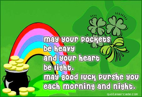 St Patrick Day Quote ♥ ♥