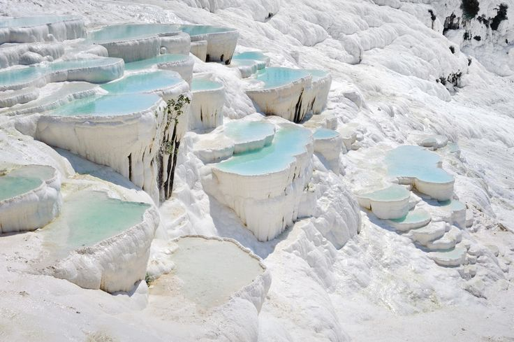 Pamukkale, Turkey | 26 Real Places That Look Like They've Been Taken Out Of Fairy Tales
