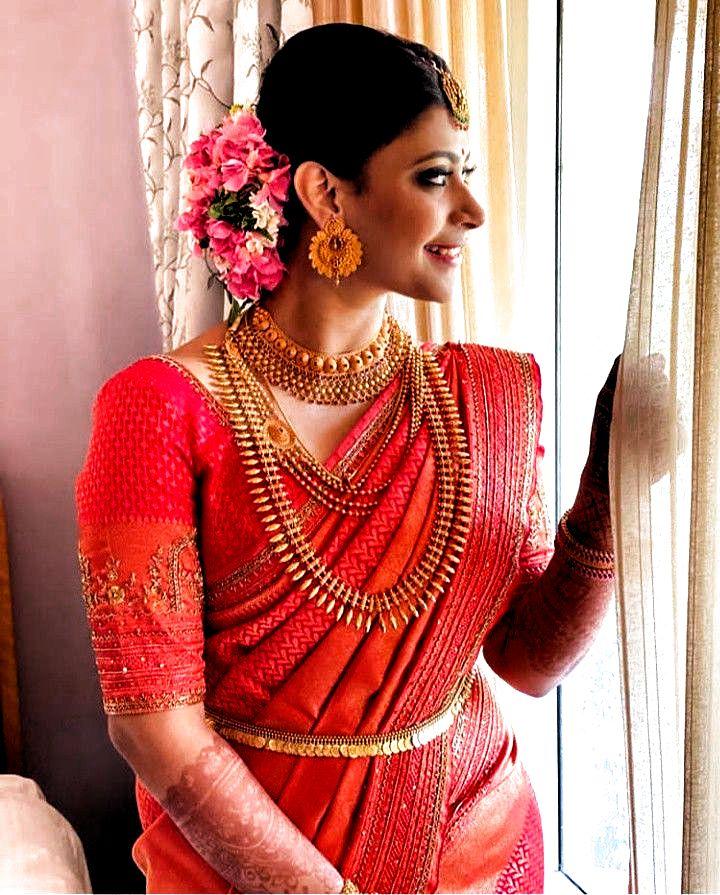 hairstyle saree wedding #hairstyle #saree #wedding * hairstyle saree & hairstyle saree simple in ...