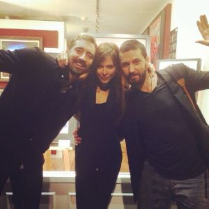 Richard Armitage, Lee Pace, & Anna Friel at The Crucible
