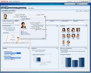Social Features of Fusion CRM