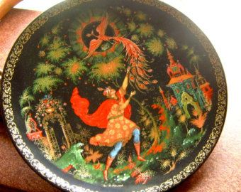 The Tsarevich and the Firebird - Russian Collection Firebird Series - Bradex Exchange - Edit Listing - Etsy