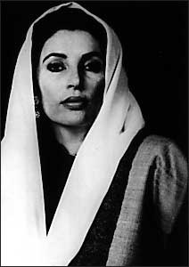 Benazir Bhutto (21 June 1953 – 27 December 2007) was a politician and stateswoman who served as the 11th Prime Minister of Pakistan in two non-consecutive terms. She was the eldest daughter of Zulfikar Ali Bhutto, a former prime minister of Pakistan and the founder of the Pakistan People's Party (PPP), which she led. Her legacy is a controversial one. - ♥ Rhea Khan