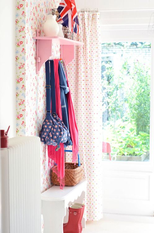Spotty curtains