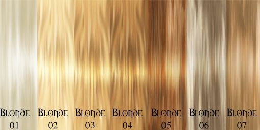 shades of blond