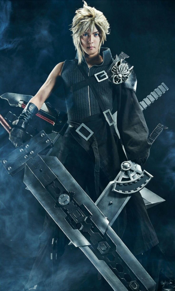 #cloudstrife from #finalfantasyvii cosplay by #kanon