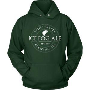 Winterfell Brewing Logo - Unisex Hoodie - 9 oz Cotton