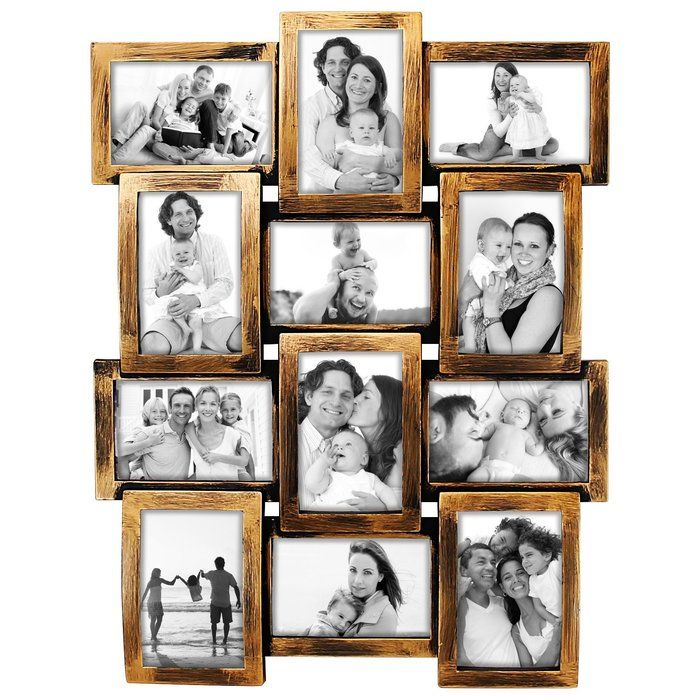 Douthitt Gallery Style Wall Hanging 12 Opening Photo Sockets Picture Frame Picture Frames Wall Hanging Photo Frames Picture Frame Colors