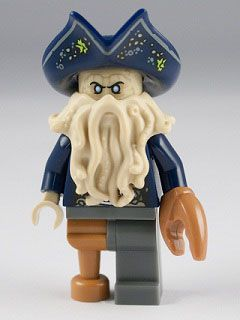 I want the Lego Pirates of the Caribbean Black Pearl set just to get Davy Jones.  HE IS AWESOME