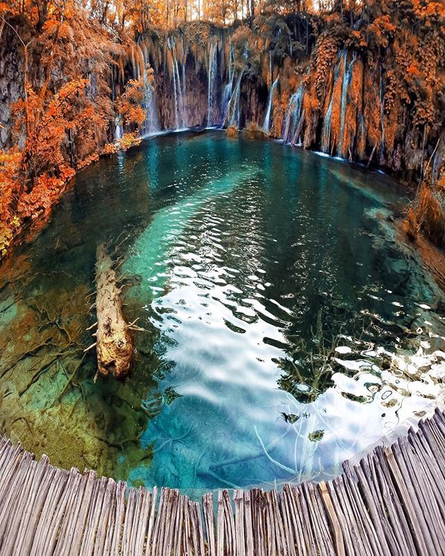 Plitvice Lakes - Croatia Share your fall photos and include #BHAutumn