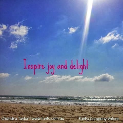 Inspire joy and delight