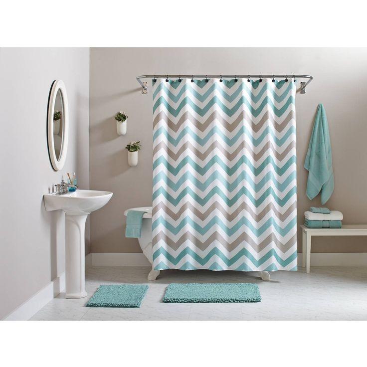 Best Curtains At Walmart Ideas On Pinterest Uga Dorm Ruffle - Better homes and gardens shower curtain