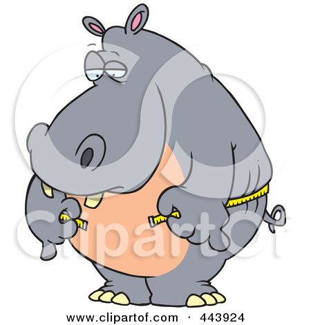 I don't see myself as a hippo really and can measure with a normal tape measure
