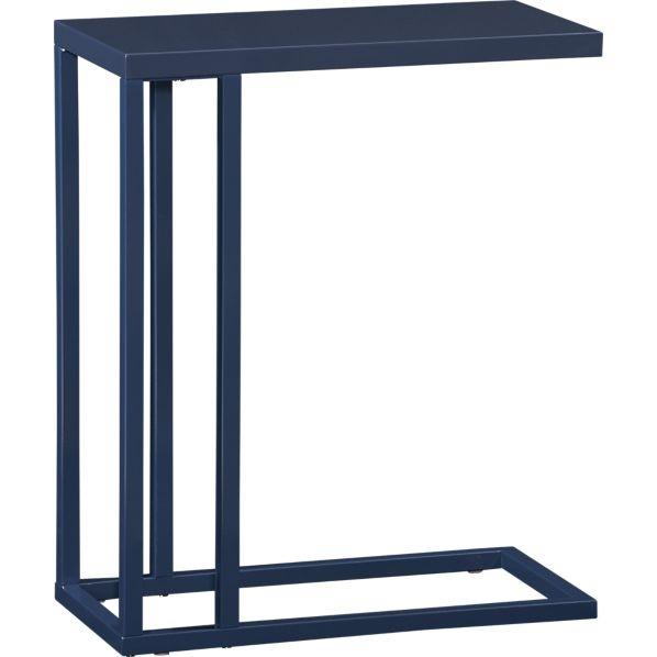 Skye C Table Indigo   Crate & Barrel $208Coffee Tables, Side Tables, Couch Tables, C Tables, Tables Indigo, Skye Indigo, Barrels 99, Accent Tables, Crates And Barrels