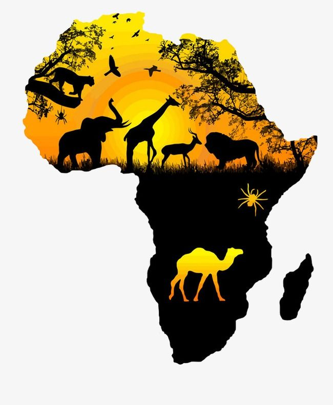 خريطة خريطة المرسومة أفريقيا جغرافية Png والمتجهات للتحميل مجانا Africa Art Design African Warrior Tattoos Africa Map Tattoo