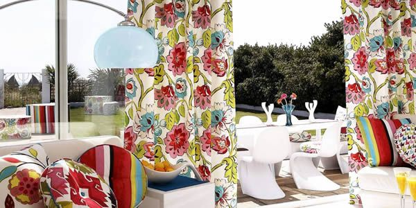 fabulously colourful and very floral patterned curtains and drapes window treatments luxury curtains u0026 blinds pinterest pattern curtains - Patterned Curtains