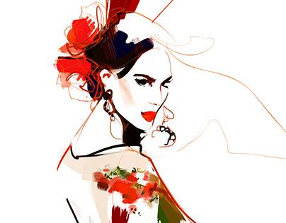 "Check out new work on my @Behance portfolio: ""fashionillu_36"" http://be.net/gallery/37467859/fashionillu_36"