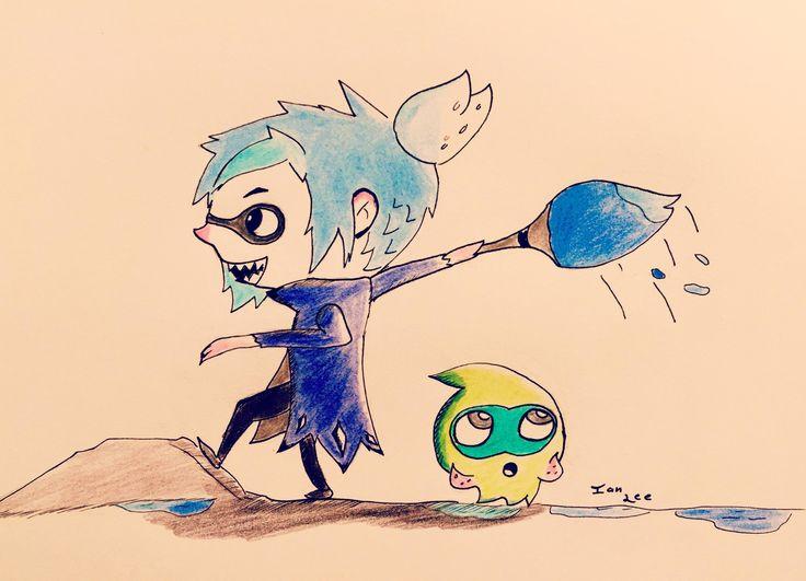 Splatoon squid kid
