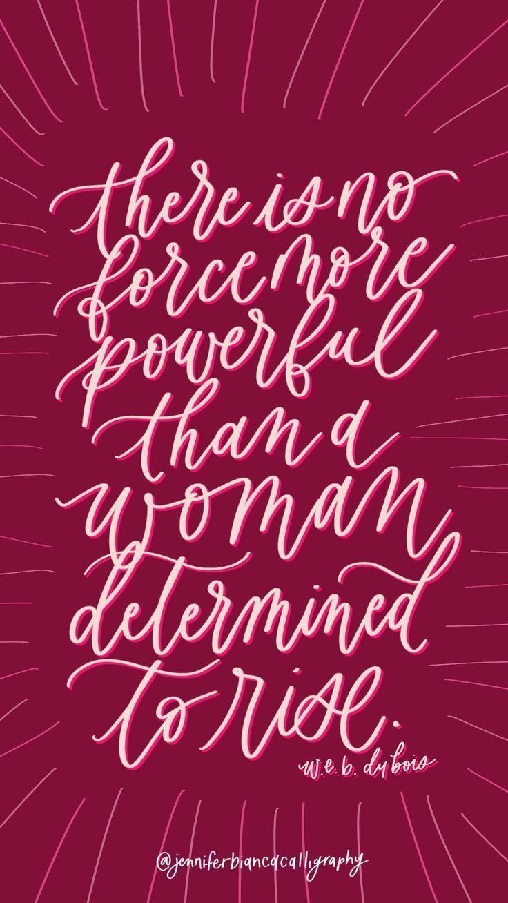 Women Empowerment Women Strength Quote Calligraphy Strength Quotes For Women Empowerment Quotes Women Empowerment Quotes