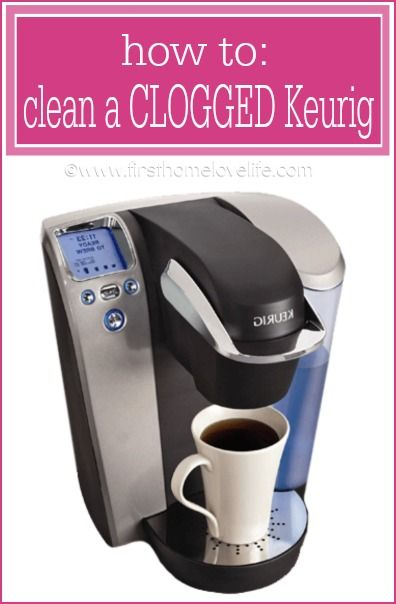 Pin NOW...Read later when you need it! How to Clean a Clogged Keurig