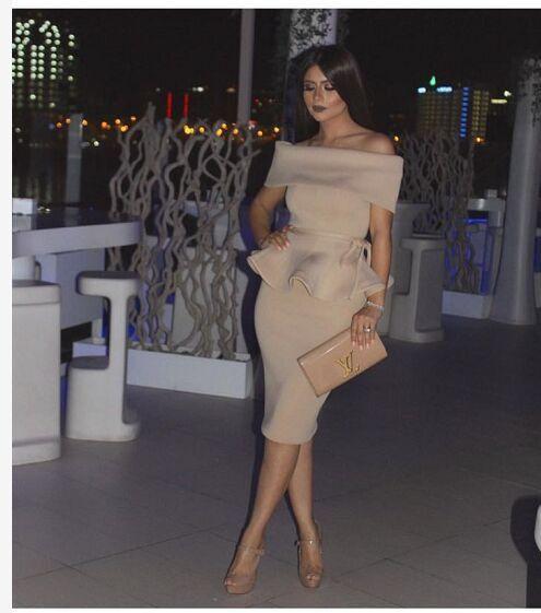 Hasana Off The Shoulder Peplum Dress – Slay Accessories