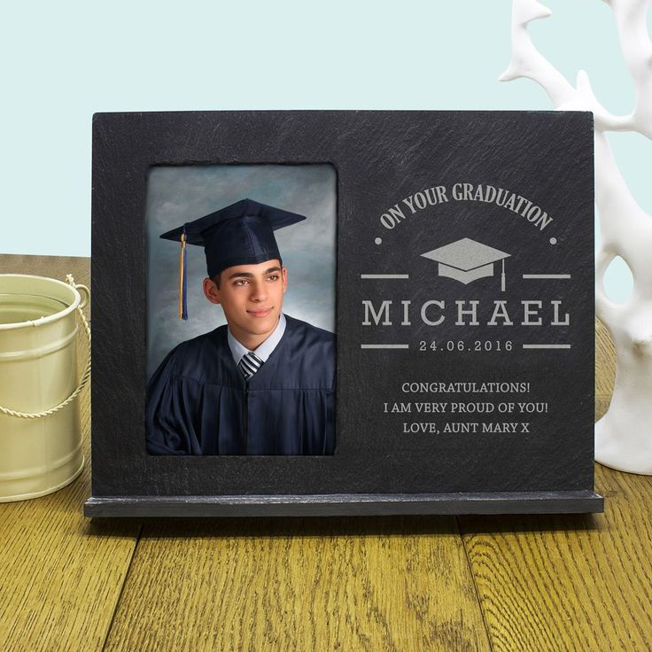 Width 24cm Height 19 0cm Weight 725g Shipping Weight 1g Product Description Say congratulations in a whole new way Slate photo frame Personalise with