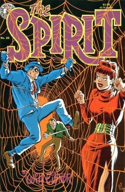 The Spirit 26 Comic Cover - Will Eisner