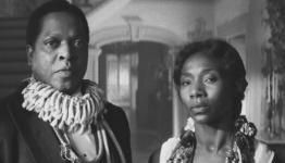 Actor Ronald McCall, with actress Jeryl Prescott, as Papa Justify and Mama Cecile, from the horror movie The Skeleton Key, starring Kate Hudson, Gena Rowlands, and John Hurt.
