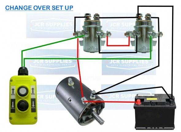 crane winch solenoid wiring diagram  10 switch box wiring
