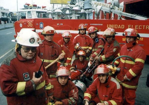 los bomberos del Peru