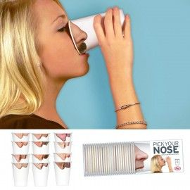 """Bekertjes """"Pick your nose"""""""