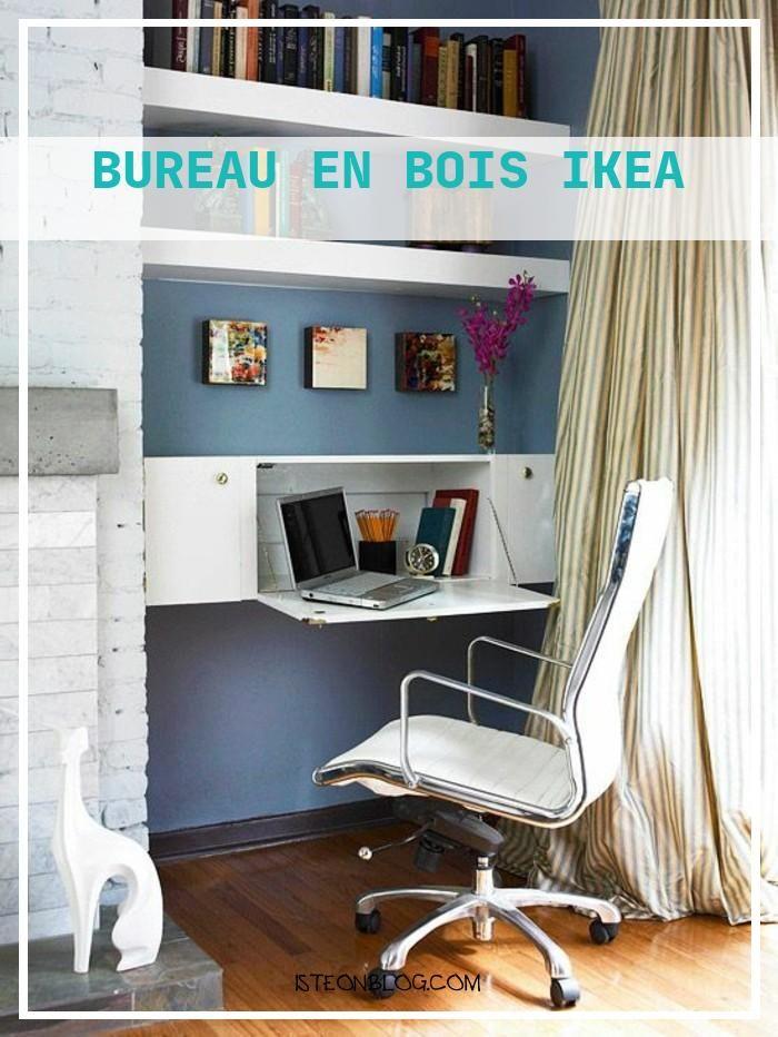 bois ikea meuble de bureau ikea