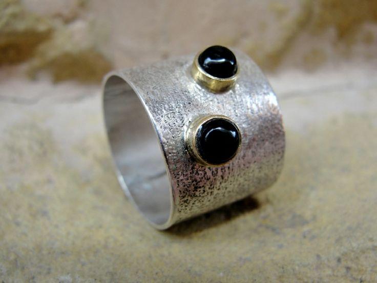 "Designer-jewelry. Bijuterie de autor - Inel ""Black Ellegance"""