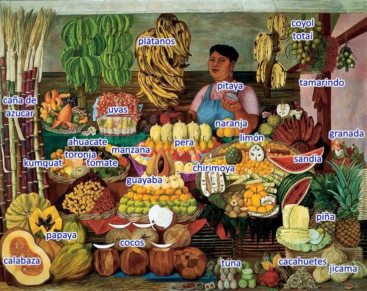 la-vendedora-de-frutas, trabajo de Senor Adams