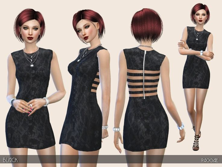 long dress sims 4 reaping