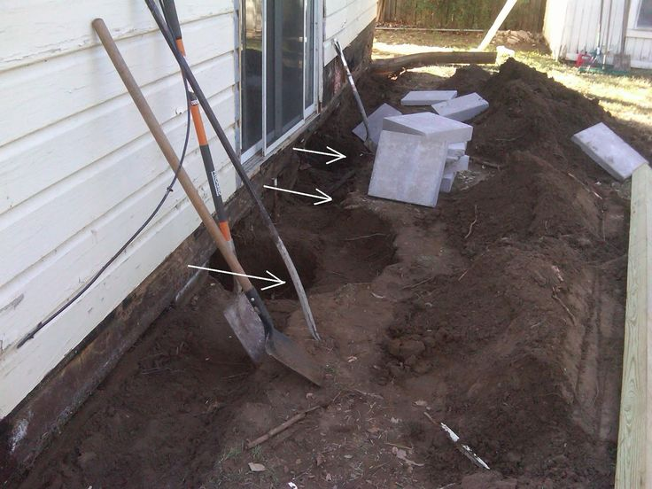 25 best ideas about foundation repair on pinterest for Fix drainage in yard